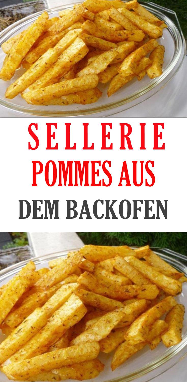 Sellerie Backofen